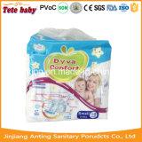 Tecido Pampering respirável do bebê da alta qualidade descartável