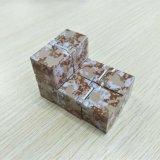 Cubo mágico de la persona agitada del infinito del ABS del alivio de tensión mini del escritorio plástico del cubo