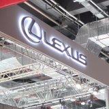 Китай сделал СИД напольный магазин освещенный для того чтобы вакуумировать сформированные знаки автомобиля