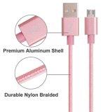 O nylon isolou o cabo do USB do relâmpago de 8 Pin para o iPhone