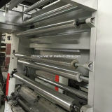 Drie Motor 8 Machine de Met gemiddelde snelheid van de Druk van de Gravure van de Kleur voor Plastic Film in 150m/Min