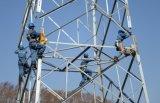 башня передачи силы 110kv стальная для проекта
