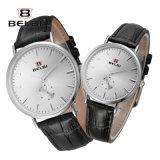 De Mannen en de Vrouwen van de Horloges van het Paar van Belbi vormen de Toevallige Eenvoudige Horloges van de Liefde van de Lijst van het Leer van de Legering Waterdichte