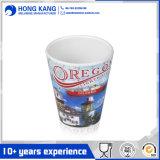 Diner la tasse potable de plastique de mélamine estampée par coutume