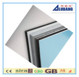 Zusammengesetztes Aluminiumpanel mit ausgezeichneter PET PVDF Beschichtung färben