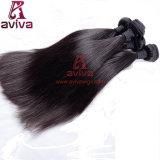 cheveu brésilien de Remy de Vierge de prolonge de cheveu d'onde de corps de cheveu non transformé de la Vierge 7A