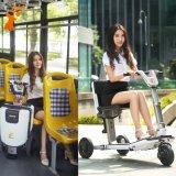 Scooters électriques pliés par 3-Wheels sûrs de bonne qualité