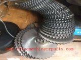 La fábrica china proporciona al cortador circular del engranaje del HSS que muele