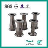 衛生ステンレス鋼の同心の締め金で止められた減力剤の管付属品