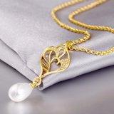 Gouden Juwelen van de Halsband van de Tegenhanger van de Parel van de Vrouwen van Hotsale de Populaire