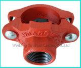 Té malléable d'ajustage de précision et de boulon en U de pipe de fer avec des homologations d'UL de FM
