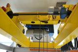Grue européenne de poutre de double de modèle avec le matériel de levage électrique d'élévateur