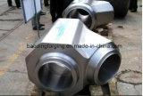 P12/P22/30CrMo/35CrMo/42CrMo4/25crmo4 OEM Machinaal bewerkte Uitstekende kwaliteit Gesmede T-stukken