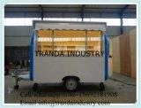 Bestelwagens van de Keuken van de Transportband van het Gebruik van de gast de Koel
