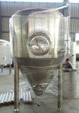使用されたステンレス鋼のグリコールのジャケットの円錐発酵槽