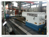Torno horizontal do CNC de China grande para girar os cilindros pesados (CG61200)