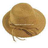 Chapéu de palha da alta qualidade da forma das senhoras