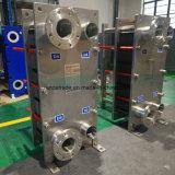 Cambiador de calor sanitario de la placa de la junta del acero inoxidable para el refrigerador de placa del enfriamiento de la leche