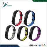 Função dupla de Mult da cinta da cor do bracelete esperto inteligente do bracelete de Bluetooth
