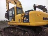 Excavador japonés usado muy bueno KOMATSU PC220-8 (2011) de la correa eslabonada hidráulica de las condiciones de trabajo para la venta