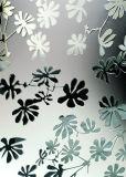 Arte di vetro della finestra del portello del vaso della vernice Tempered della costruzione di arte del reticolo decorativa
