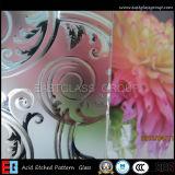Por exemplo espaço livre de 3mm-12mm. O ácido colorido gravou vidro de vidro/geado/vidro Sandblasted/vidro gravado ácido matizado do vidro/geada/Sandblasting de vidro