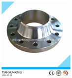 Flange do forjamento do aço inoxidável 904L da garganta da solda do ANSI B16.5