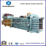 Horizontale Hydraulikanschluss-Maschinen-verbindenes Altpapier, Pappe, Plastik