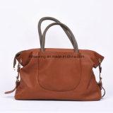 Sacchetto di spalla di cuoio del sacchetto di Tote della borsa delle donne popolari di vendita del commercio all'ingrosso caldo della fabbrica
