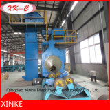 Aço Tube Outwall Shot / Sand Abrasive Equipment