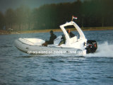 Aqualand 19feet 5.8m Rigid Inflatable Motor Boat 또는 Rib Fishing Boat (RIB580S)