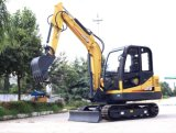 Mini máquina escavadora, máquina escavadora pequena, CT45-8b modelo