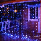 Indicatore luminoso della tenda del LED per la decorazione domestica della finestra del patio del giardino