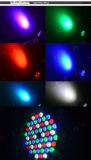 PARI van de Kleur van de LEIDENE Was 54X1w RGBW van PAR64 kan het Plastic aansteken