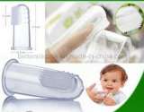 Safe Non-Toxic Cleaning Tool Silicone Baby Toothbrush