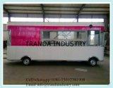 Novo Camion Vendedor de Design Caminhão de Alimentação Elétrica