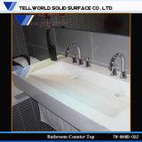 Lavabo della stanza da bagno di Corian/bacino moderno