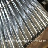 Feuille ondulée de toiture du Galvalume Az150
