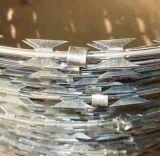 Колючая проволока бритвы для фабрики высокия уровня безопасности