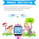 Вахта отслежывателя малышей Setracker ориентированный на заказчика GPS более большого экрана (D19)