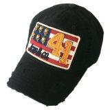 Niza lavado gorra de béisbol con aplique de fieltro Gjwd1725
