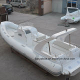 Liya 8.3m Cabin Rib Boat Hypalon Yacht New Inflatable Rubber Boat für Sale