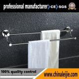 SUS304浴室のアクセサリのための二重タオル棒