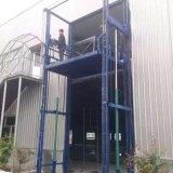 Elevador estacionário hidráulico da carga da máquina do elevador do guia