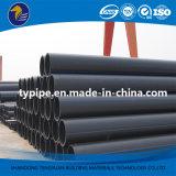 Трубопровод профессионального полиэтилена высокой плотности изготовления пластичный для водоснабжения