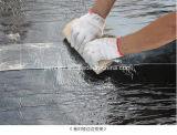 Membrane imperméable à l'eau de bitume auto-adhésif de film de PE de matériaux de construction