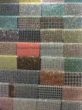 Heiße Kristallverlegenheitselbstklebendes Rhinestone-Netz-Ineinander greifen