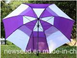 Parapluie droit extérieur Wp-Osuaw001 protégeant du vent automatique