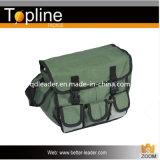 緑色の釣り道具袋
