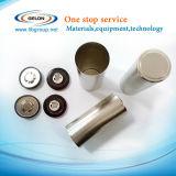 cassa delle cellule dei 18650, 26650, 32650 cilindri con la protezione antidetonante e giunto circolare dell'isolamento